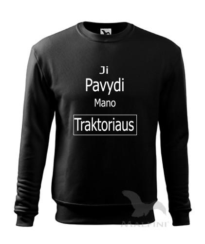 """Džemperis """"JI PAVYDI MANO TRAKTORIAUS"""""""