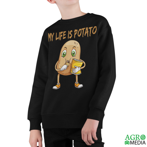 Vaikiškas džemperis ,,Potato is my life ''