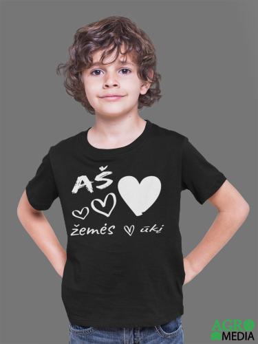 Vaikiški marškinėliai ,,Aš myliu žemės ūkį''