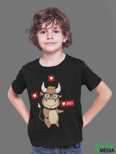 Vaikiški marškinėliai ,,Jautukas 2021''