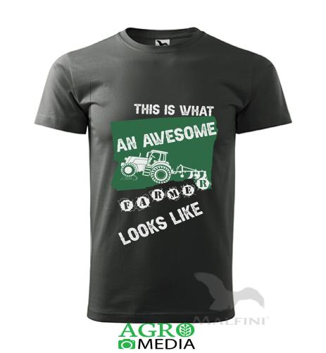 """Marškinėliai """"Awesome Farmer"""""""
