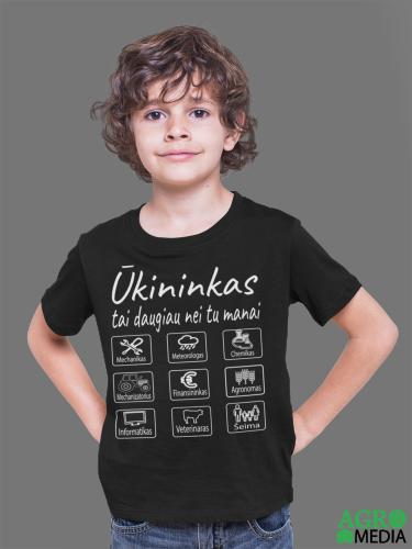 Vaikiški marškinėliai ,,Ūkininkas tai daugiau nei manai''