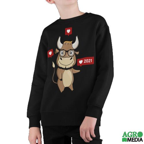 Vaikiškas džemperis ,,Jautukas 2021''